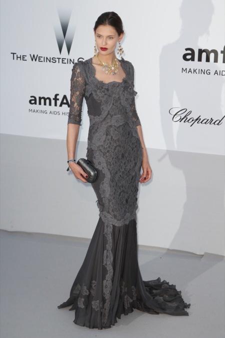 Bianca Balti amFAR 2012 Cannes