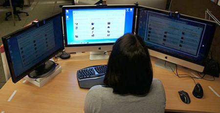 Los monitores que saben donde miras para ayudarte a concentrarte