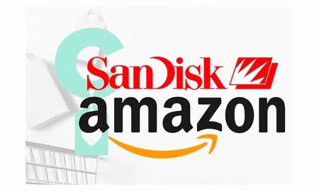 15 ofertas en almacenamiento SanDisk en Amazon: tarjetas de memoria, pendrives o discos duros SSD portables a los mejores precios