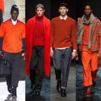 Moda para hombres: el otoño se viste de naranja