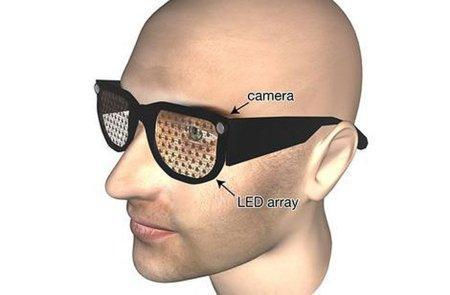 Gafas LED para personas con problemas de visión. Todavía no dejan ver Youtube