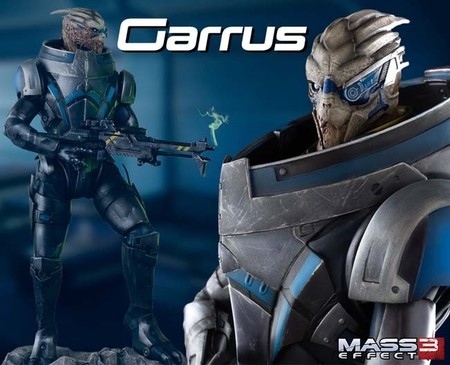 Gaming Heads revela su figura de Garrus de Mass Effect