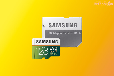 La tarjeta de memoria microSD Samsung EVO Select de 128 GB alcanza su precio mínimo histórico en Amazon, por 14,90 euros