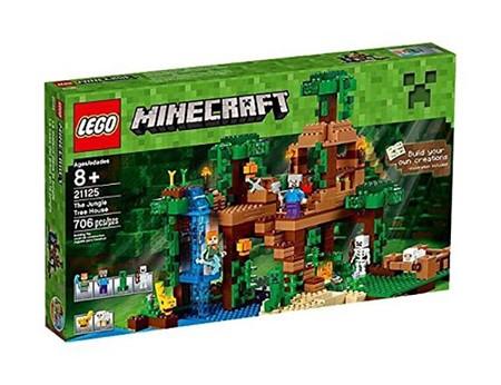 Lego Minecraft Arbol Jungla 3