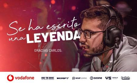 Lgend y Vodafone Giants separan sus caminos poniendo fin a más de tres años de relación
