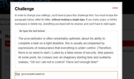 Pequeño desafio