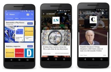Los colombianos ya pueden empezar a utilizar Google Play Kiosco