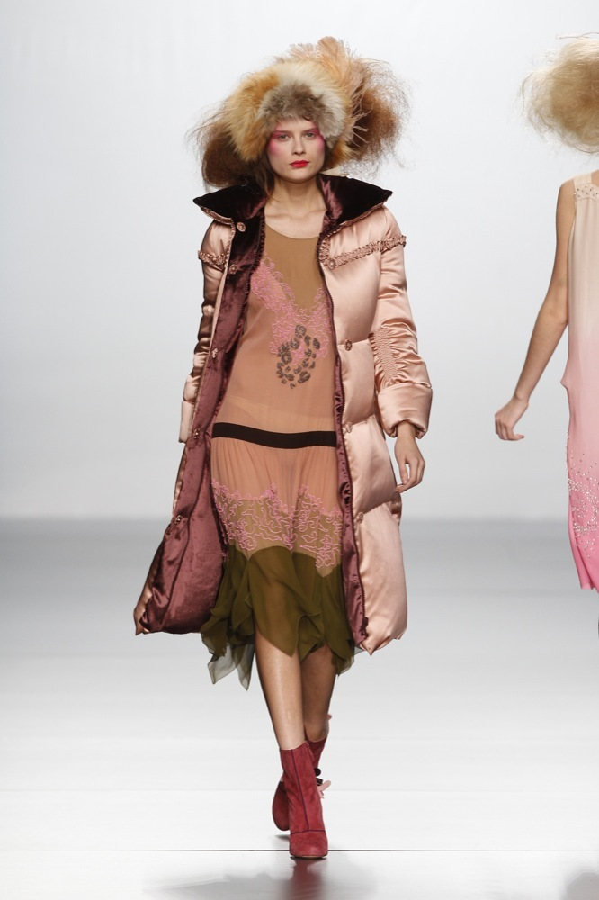 Foto de Elisa Palomino en la Cibeles Madrid Fashion Week Otoño-Invierno 2011/2012 (10/30)