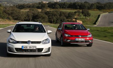 Volkswagen Golf Variant GTD y Alltrack: contacto con dos de las versiones más interesantes del Golf familiar