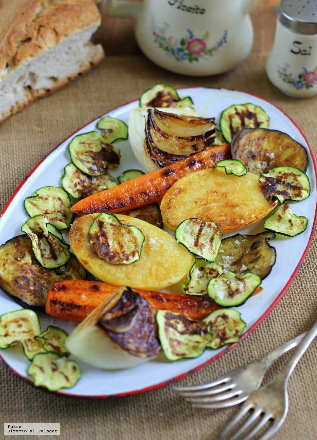 C mo hacer una parrillada de verduras perfecta for Parrillada verduras
