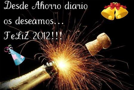 ¡¡Feliz 2012 ahorradores!!