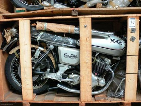 Subasta de motos clásicas