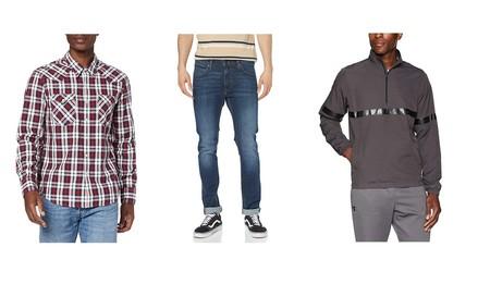 Chollos en tallas sueltas de pantalones, camisas y sudaderas de marcas como Under Armour, Levi's, Desigual  o Lee en Amazon