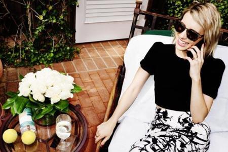 Emma Roberts para Jimmy Choo