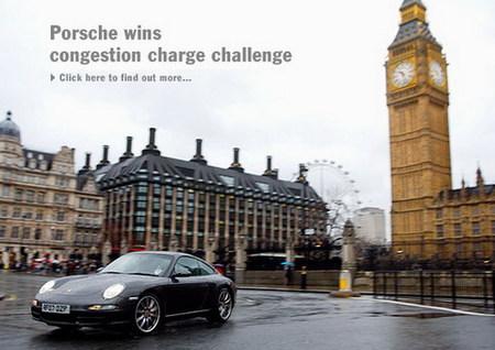 "Porsche gana la batalla contra el ""congestion charge"" londinense"