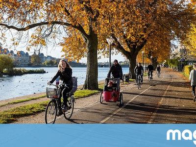 En Copenhague no sueltan la bici llueva o truene. Esto es lo que podemos aprender de ellos