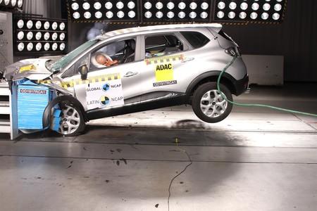 El Renault Captur latinoamericano consigue 4 estrellas en seguridad por Latin NCAP