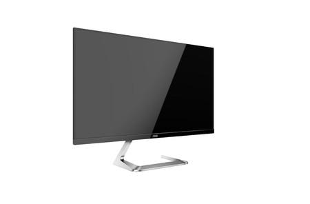 Los nuevos monitores de AOC llegan de la mano de Porsche Design, por lo que la elegancia y el diseño, al menos, se les presuponen