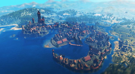 Fantasea con The Witcher 3: SimCity Edition, un crossover imposible en forma de vídeo relajante
