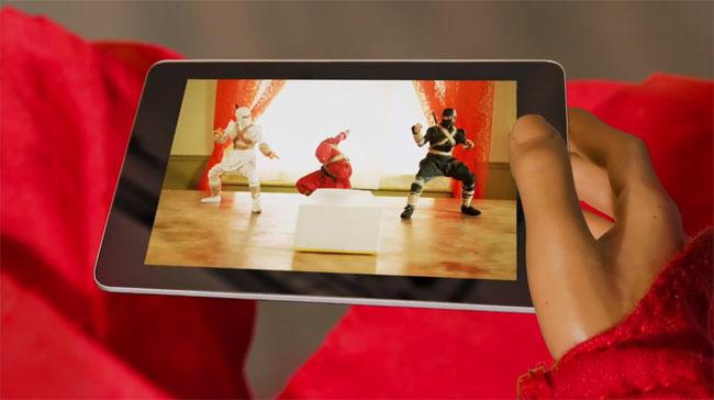 Ninja Unboxing Nexus 7