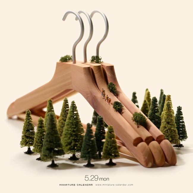 Miniature Calendar Tatsuya Tanaka 22