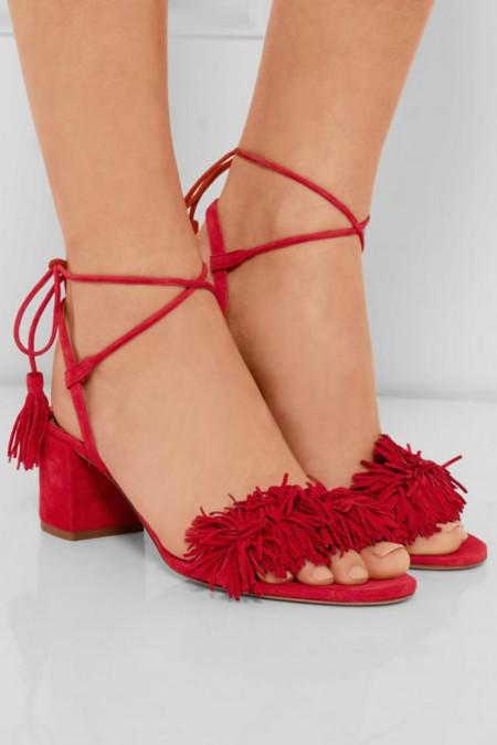 Clonados y pillados: Zara ya ha echado el guante a las próximas sandalias it de Aquazzura