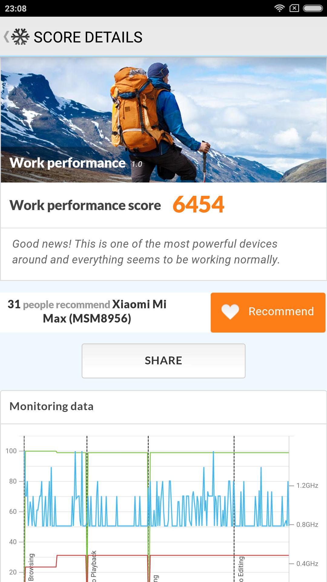 Foto de Xiaomi Mi Max, benchmarks (1/34)
