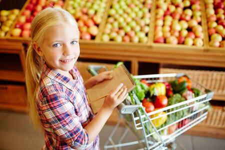 hacer la compra con los niños