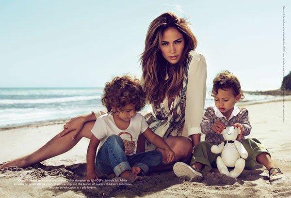 Jennifer Lopez Gucci Kids