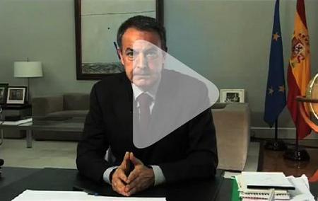 Zapatero presenta el Plan E, de economía y empleo