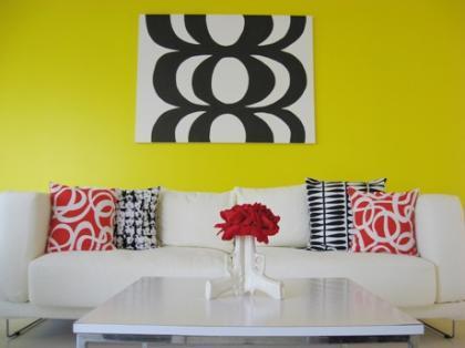 Combinaciones (V): Dale alegría a tu casa con el amarillo y el blanco
