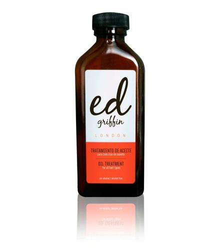 Probamos el aceite para el cabello de Ed Griffin London