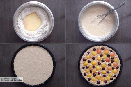 Cake Buttermilk Albaricoques