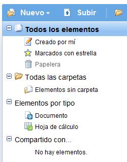 Google Docs se renueva y añade carpetas