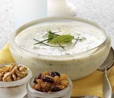 Salsas ligeras a base de yogur