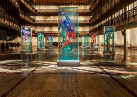 Estos impresionantes bailarines de cristal debutarán como parte del Ballet de Nueva York
