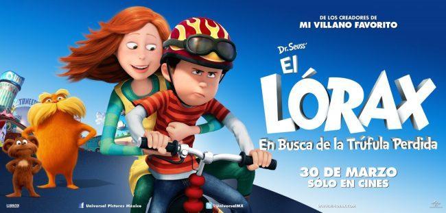 Banner de la película animada Lorax