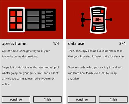 Nokia Xpress sale del Beta y ofrece importantes características