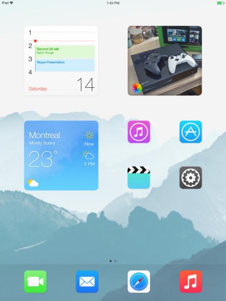 concepto ios 8 jay machalani widgets