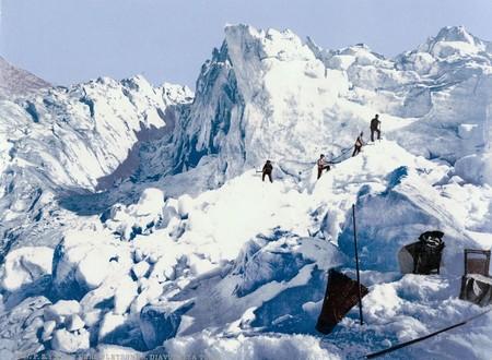 Upper Engadine Mont Pers Glacier Grisons