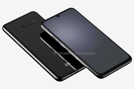 El LG G8X se filtra en sus renders más detallados, mostrando un notch de gota y jack de auriculares