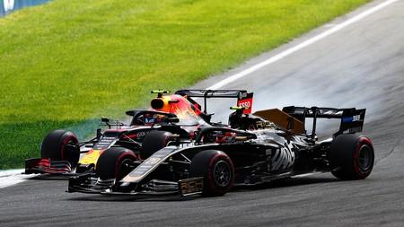 Albon Magnussen Monza F1 2019