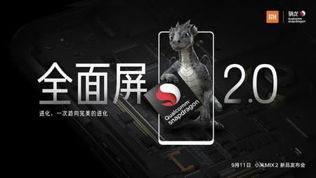 Xiaomi Mi Mix 2: bordes aún más pequeños y Snapdragon 835 para el próximo dragón chino