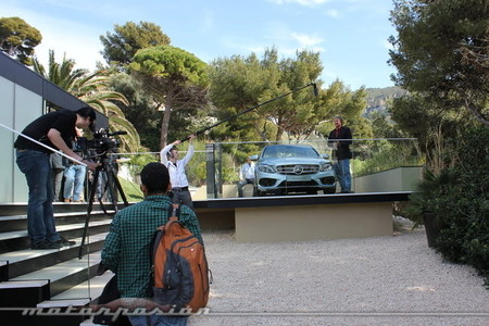 Mercedes-Benz Clase C 2014, presentación a medios