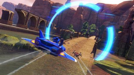 Así luce el 'Sonic & All-Stars Racing Transformed' de Wii U