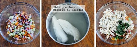 Salpicon Pollo Receta