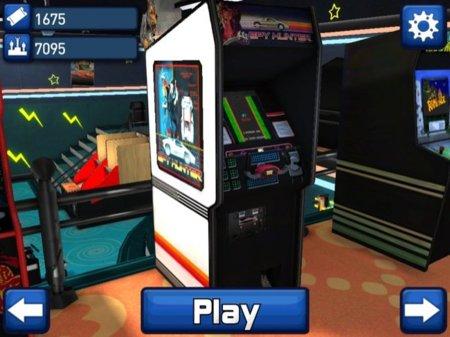 Cabinet de Spy Hunter en Midway Arcade