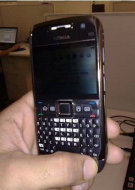 Nokia E71 en un día