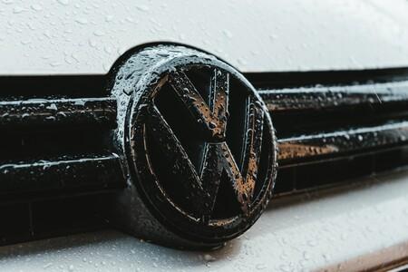 Volkswagen Logo Lluvia