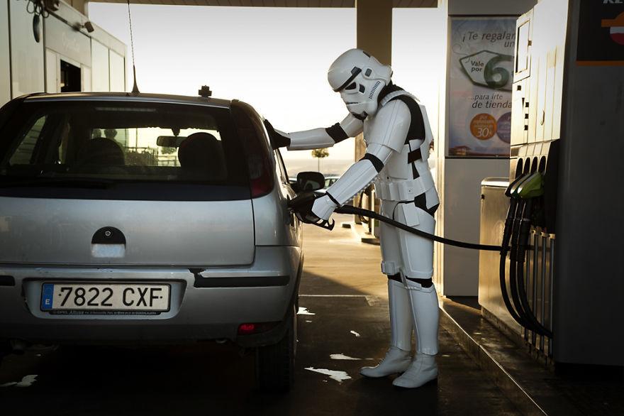 El día a día de los Stormtroopers